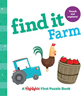 Find it Farm: Baby's First Puzzle Book