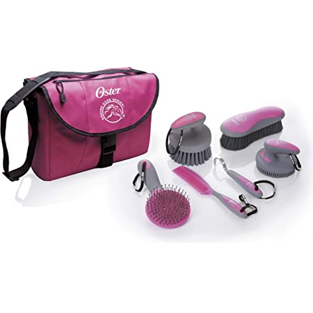 Pink One Size Oster Mane And Tail Equine Brush