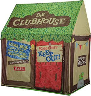 Kids Play Tent Children Playhouse - Indoor Outdoor Tent Model Clubhouse Green Portable