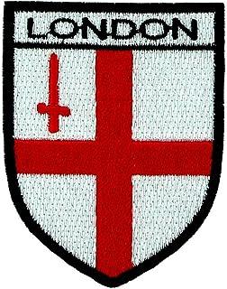 Haftowany herb angielski kraj flaga Londyn naszywka na plecaki
