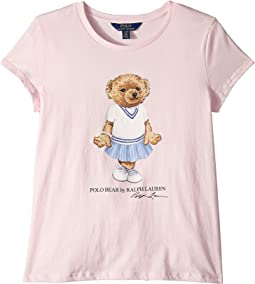 Cricket Bear Cotton T-Shirt (Little Kids/Big Kids)