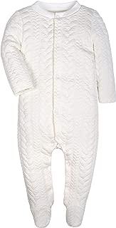 Baby Boys Girls Warm Winter Long-Sleeve Footed Pajamas Sleeper Rompers