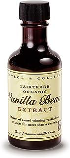 Taylor & Colledge Bio Vanille-Extrakt 100ml Flasche DE-ÖKO-006