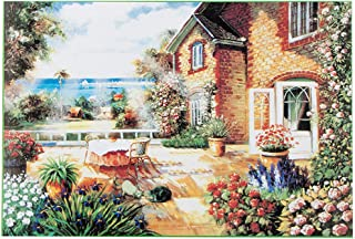 Keepfit 1000 Pieces Jigsaw Puzzles for Adults - England Cottage Micro Jigsaw Puzzles 29.53 x 19.69inch