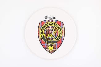 Stewart Scottish Clan Crest Coaster