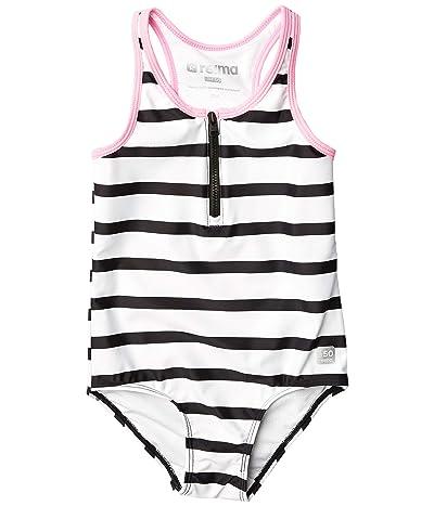 reima Swimsuit Vanuatu (Toddler/Little Kids/Big Kids) (White) Girl