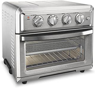 Cuisinart TOA-60 AirFryer, Convection Toaster Oven, Silver