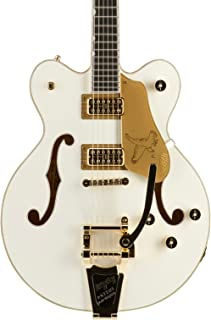 Gretsch G6636T Players Edition Falcon Center Block - White, Bigsby Tailpiece