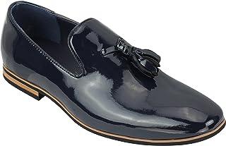 Amazon.es: mocasines con borlas Azul: Zapatos y complementos