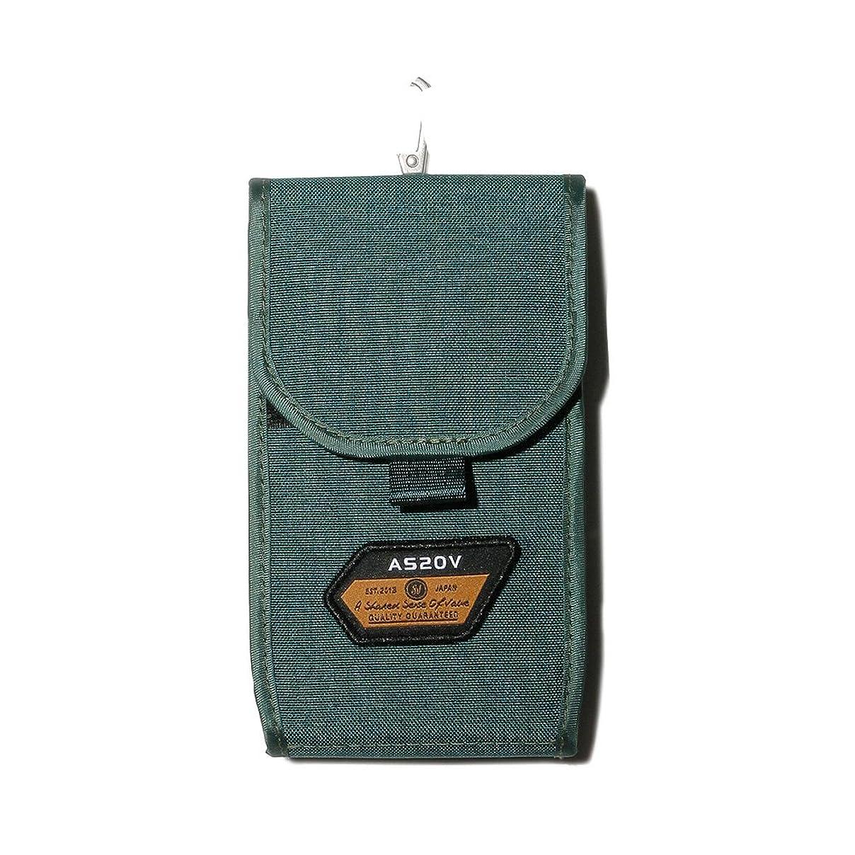 ジーンズテロリストリムAS2OV (アッソブ) CORDURA SPAN 600D MOBILE CASE 携帯ケース