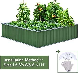 Best galvanized steel planter boxes diy Reviews