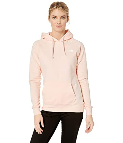 The North Face Red Box Pullover Hoodie (Pink Salt/TNF White) Women