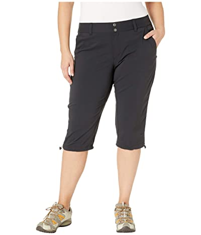 Columbia Plus Size Saturday Trail II Knee Pant (Black) Women