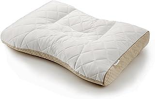 東京 西川 ミニ パイプ 枕 高さ ( ふつう ) 洗える 通気性 弾力 高さ調節可能 ファインスムーズ ホワイト EH07112012M
