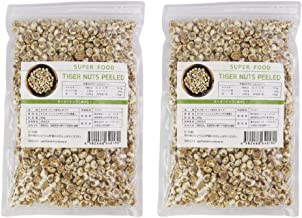 タイガーナッツ 1kg 皮なし (500g x 2袋セット) 国内選別 充填 大容量 食物繊維 ビタミン ミネラル 植物性たんぱく質 が豊富