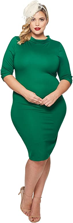 Unique Vintage - Plus Size Cassidy Wiggle Dress