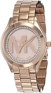 ساعة مايكل كورس رنواي للنساء بسوار من الستانلس ستيل - MK3549