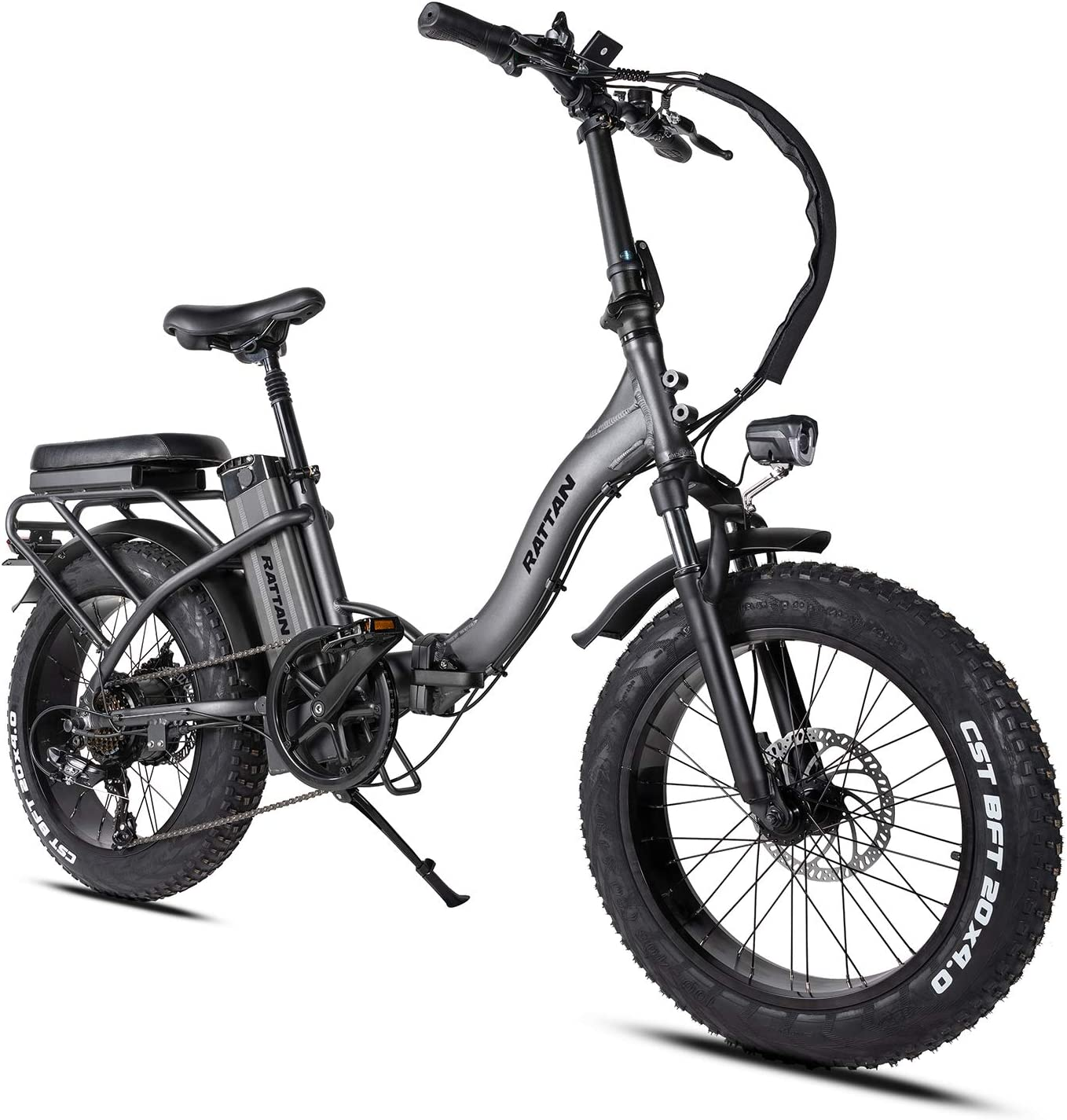 I/·PAS Rattan Eletric Bike for Adults Folding Bikes 48V 500W//750W 3.0//4.0 Fat Tire Bikes 13AH Removable Lithium-ion Battery E-Bikes 7 Speed Shifter Eletric Bicycle