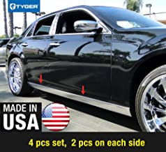 Made in USA! Works with 2011-2017 Chrysler 300 300C Extreme Lower Rocker Panel Molding Trim 4