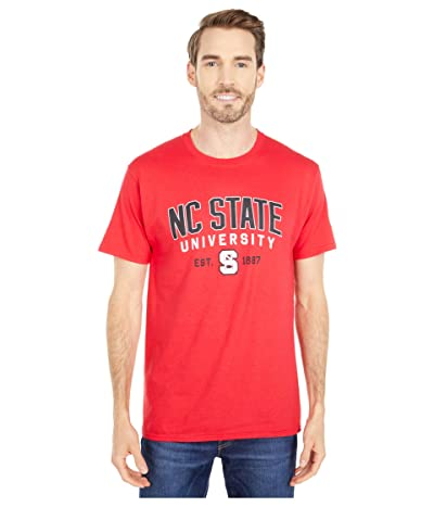 Champion College NC State Wolfpack Jersey Tee (Scarlet 4) Men