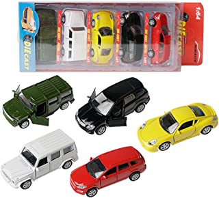 AITING Sports car Vehicle Gift Set Door can open, 5-Piece