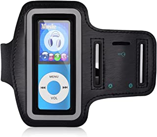 MYMAHDI Adjustable Gym Sport Wrist Strap Armband for MP3 Players, Scratch Resistant Material with Sweat Proof and Breathable Function
