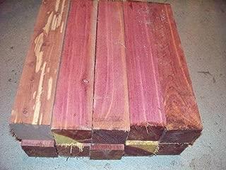 8 Eastern RED Cedar Turning Blocks Lumber Lathe 2 X 2 X 11