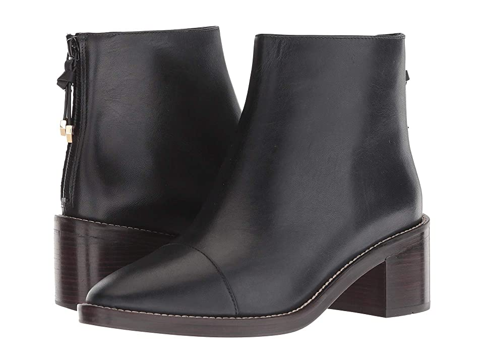 Cole Haan 50 mm Winnie Grand Bootie Waterproof (Black Waterproof Leather) Women