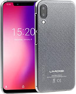 CiCiCat UMIDIGI ONE/ONE PRO Case Cover, Slim Hard PC Back Cover Shell Case, Stylish Strong Thin Protective Case for UMIDIGI ONE/ONE PRO Smartphone (Transparent, UMIDIGI ONE/UMIDIGI ONE PRO 5.9'')