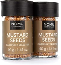 NOMU Essentials Whole Mustard Seeds - Yellow (2.82 oz | 2-pack) | Non-GMO, Non-Irradiated