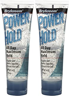 brylcreem power hold hair gel, 4 oz, 2 pk