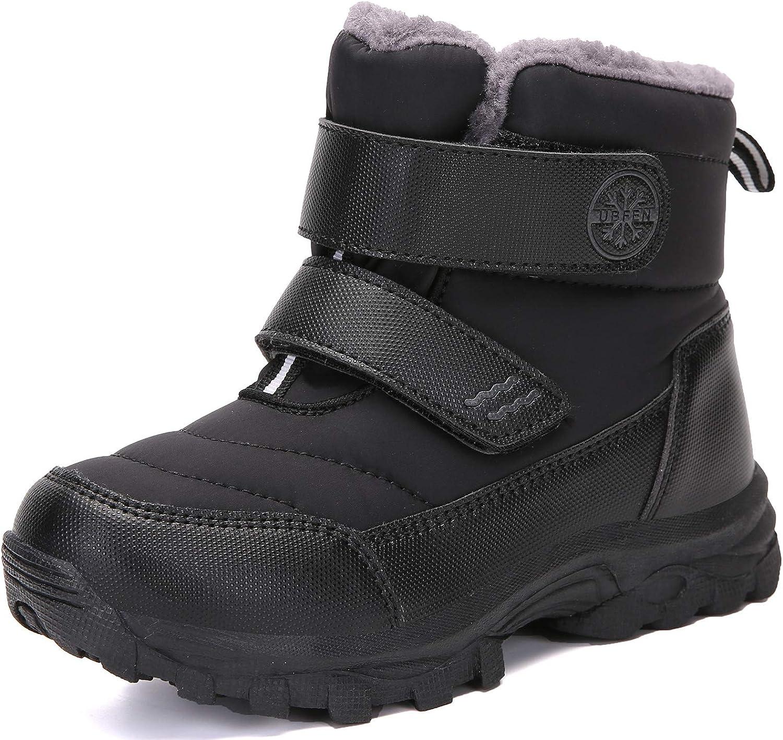 UBFEN Kids Snow Boots Boys OFFer Waterproof Girls Warm Dedication Winter Outdoor