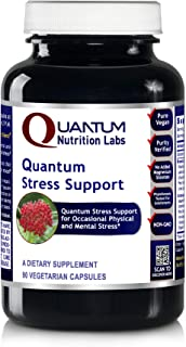 Quantum Stress Support, 90 Vegetarian Capsules - Physical and Mental Stress Support Formula