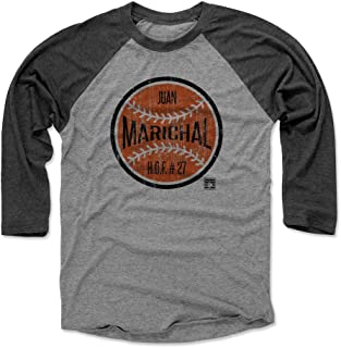 500 LEVEL Juan Marichal Shirt - Vintage San Francisco Baseball Raglan Tee - Juan Marichal Ball