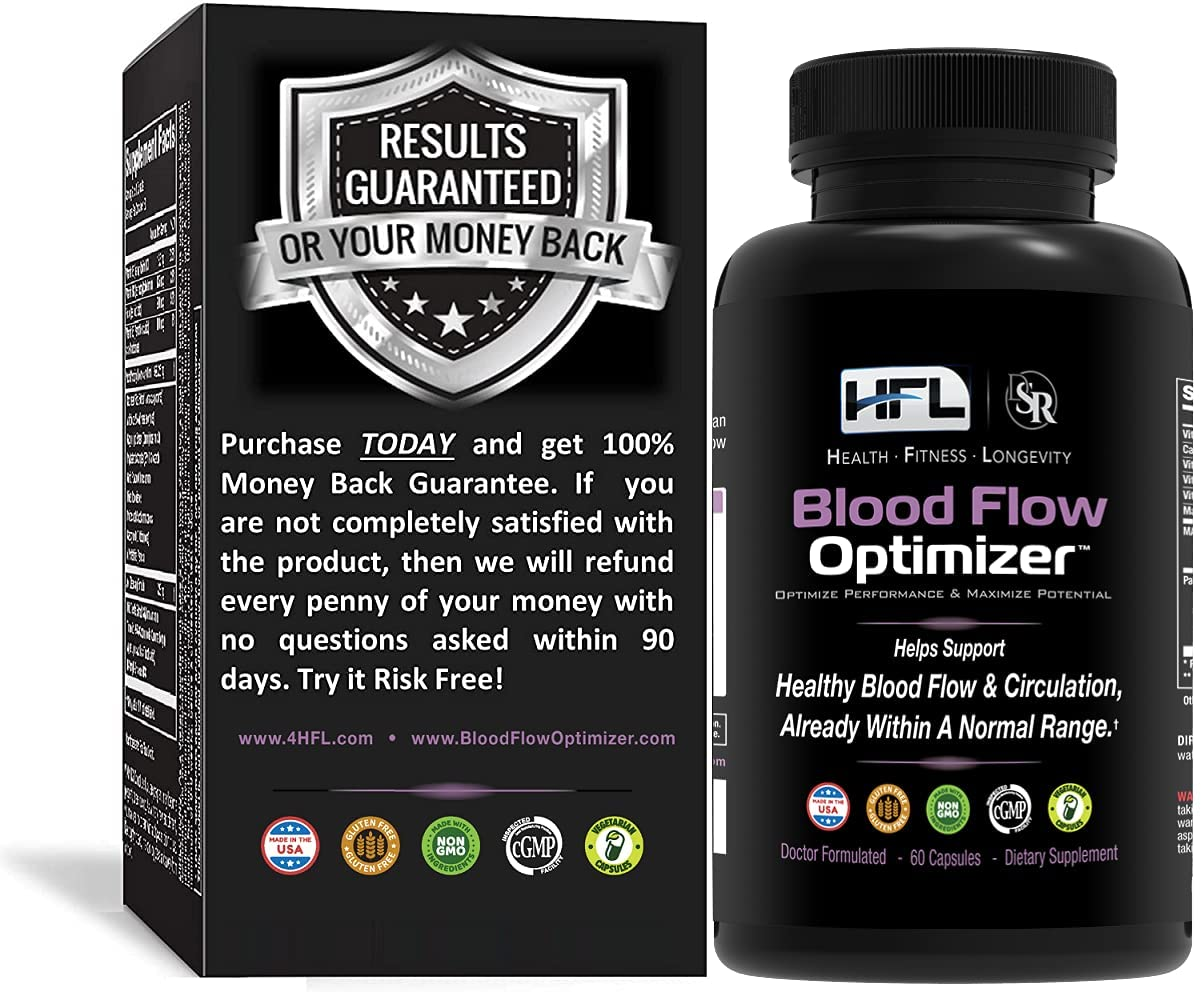 Blood Flow Optimizer by Dr Circulat 5 ☆ very popular Sam and Robbins 2021 model