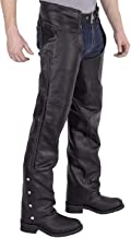 mens leather chaps pants