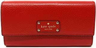 Kate Spade Wellesley Jean Large Wallet Hot Chili (RED)