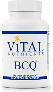Vital Nutrients - BCQ (Bromelain, Curcumin and Quercetin) - Herbal Support for Joint, Sinus and Digestive Health - 60 Capsules per Bottle
