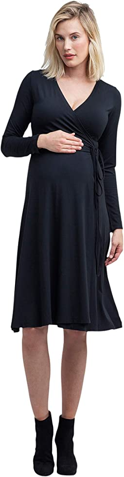 Tessa Maternity + Nursing Wrap Dress
