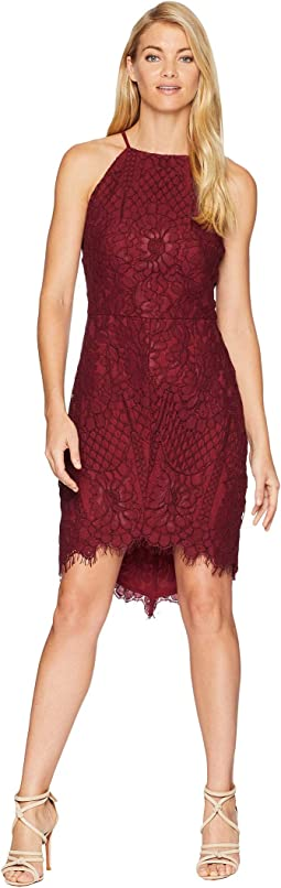 Juliet Woven Lace Sheath Dress