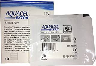 New and Improved AQUACEL� EXTRA Hydrofiber� dressing 2