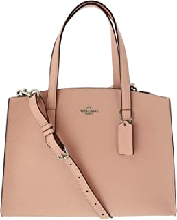 Women's Polished Pebble Leather Charlie Carryall