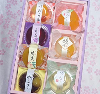 Assorted Japanese sweets WAGASHI Gift Box Yokan Jelly Special Dessert Sakura's wrapping