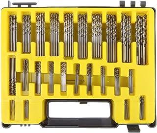 5Pcs  High Speed Steel HSS Extra Long Drill Bit Set Twist Metal Wood Tools UK