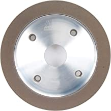 Straight Cup Grinding Wheel, 6In, 120, 6A2C