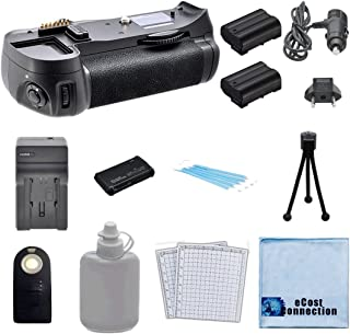Vertical Battery Grip for Nikon D610, D600 DSLR Camera + 2 EN-EL15 Long Life Batteries + AC/DC Turbo Charger With Travel Adapter + Universal Wireless Remote + All-In-One Card Reader + Complete Deluxe Starter Kit (MB-D14 MBD14)