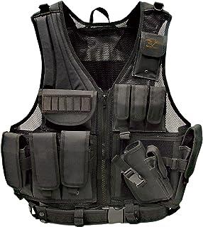 Galati Gear Deluxe Tactical Vest (Black, Husky)