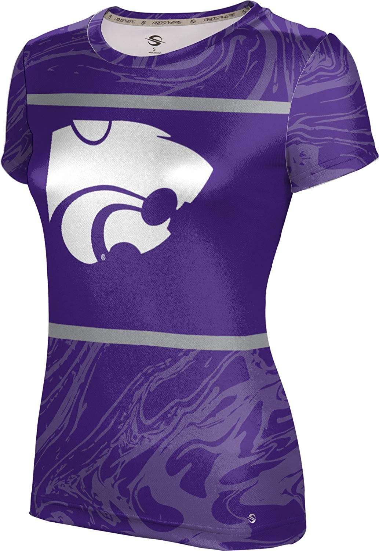 ProSphere Kansas State University Girls' Performance T-Shirt (Ripple)