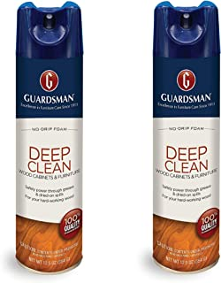 Guardsman Deep Clean - Purifying Wood Cleaner - 12.5 oz (PACK of 2) Streak Free, Doesn't Attract Dust 460500