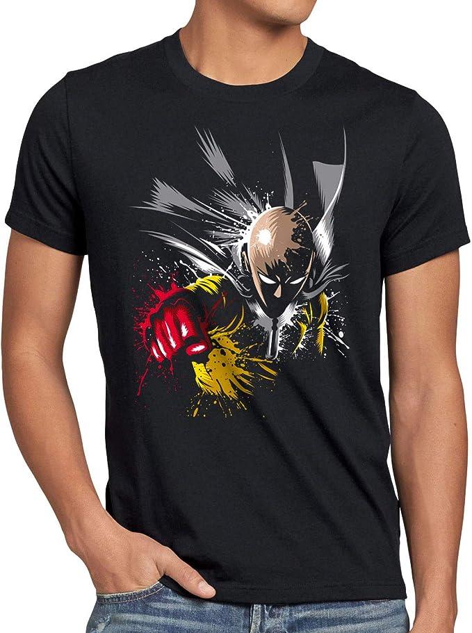 112 opinioni per style3 Saitama Punch T-Shirt da Uomo One Anime Manga